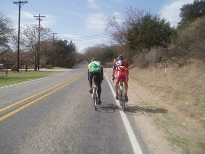 Riding During Texas Hell Week