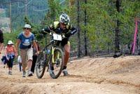 Dave Wiens on Powerline, 2009 Leadville 100