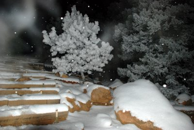 Snow on Manitou Incline