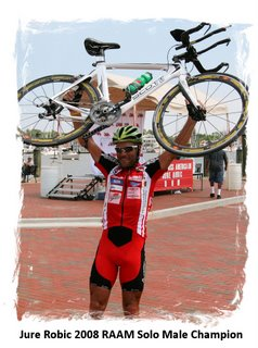 Jure Robic Wins 2008 Race Across America
