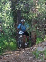 Ricky at the Leadville 100