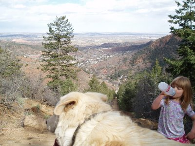 Taking a Break on the Manitou Incline
