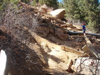 Steep Section of Manitou Incline