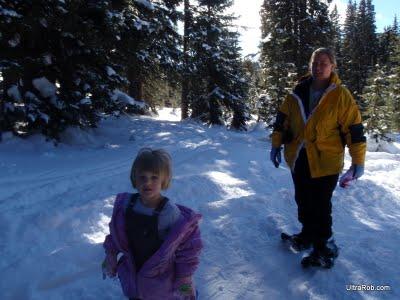 Snowshoeing on Wolf Creek Pass