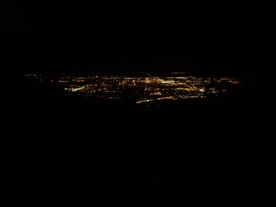 Colorado Springs Lights from Barr Trail