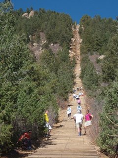 Cross Training on the Manitou Incline