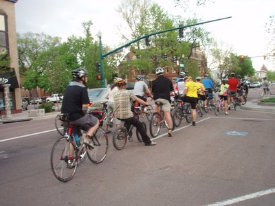 Colorado Springs Ride of Silence 2008