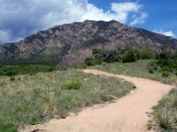 Cheyenne Mountain from Cheyenne Mountain State Park