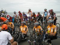 RAAM Starting Line in Oceanside