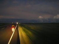 Riding into the Night During RAAM