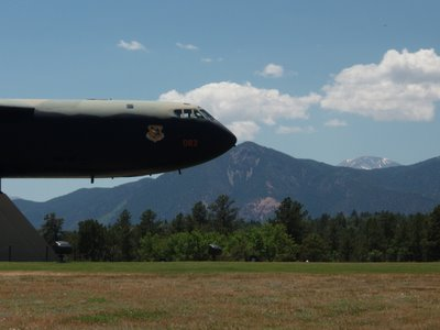 Bomber at the Air Force Academy