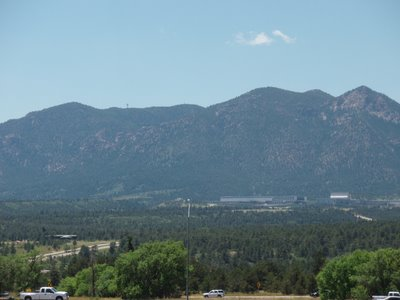 Air Force Academy from Gleneagle