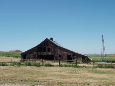 Old Barn on Hodgen Road