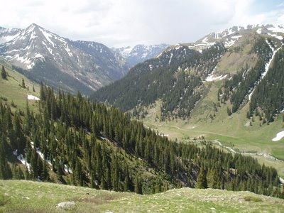 Valley Near Animas Forks, CO