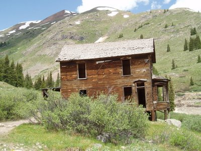 Duncan House at Animas Forks, CO