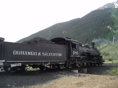 Train in Silverton, CO