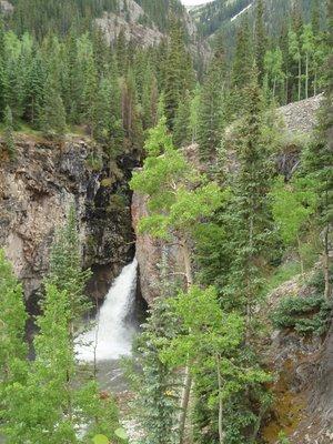 Whitmore Falls Near Lake City, CO