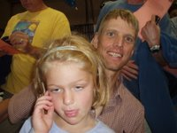 Dave Wiens with My Daughter