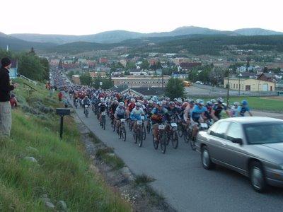 2007 Leadville 100 MTB Start