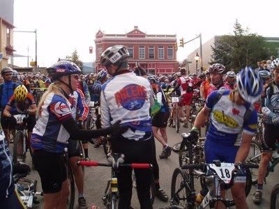Start Line of the Leadville 100