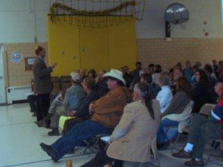 White Acres Annexation Meeting