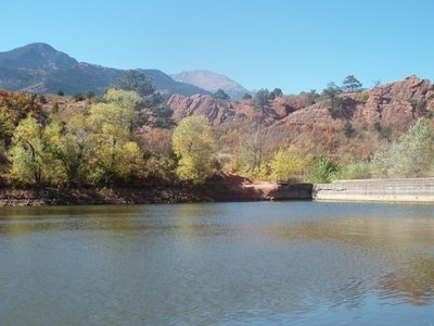 Pikes Peak and Pond in Red Rocks Open Space