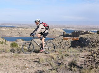 Mountain Biking at Pueblo Reservoir