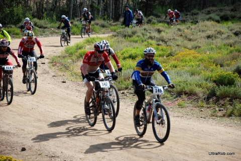 Leadville 100 - Bottom of Columbine Climb