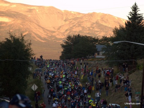 Leadville 100 Start