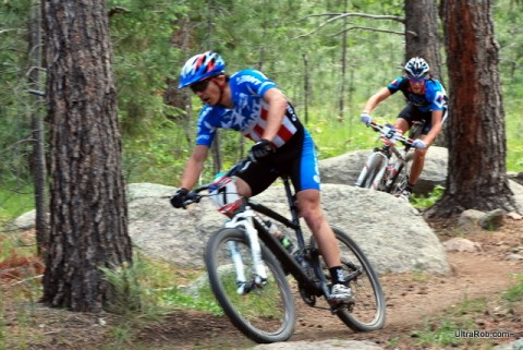 Adam Craig and Sam Schultz - PRO XCT Cheyenne Mountain State Park 2009