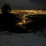 City Lights from Top of Manitou Incline