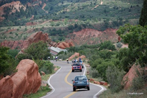 Ridge Road in Garden of the Gods