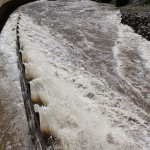 Flooded Glenwood Canyon Bike Path