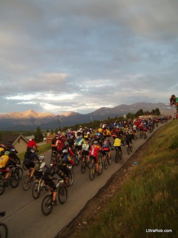 Leadville 100 MTB Start