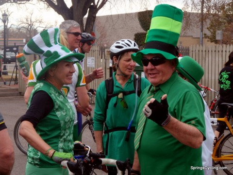 St. Patrick's Day Bike Ride