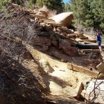 Eroded Steep Part of Manitou Incline