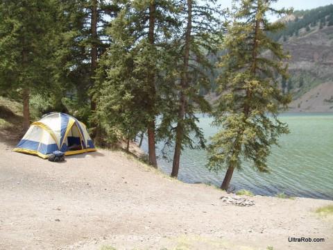 Camping Near Lake City