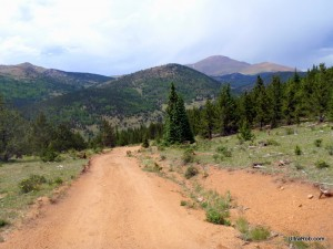 Pikes Peak from Old Seven Steps Road