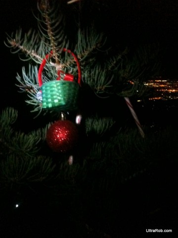 Christmas Spirit on the Manitou Incline