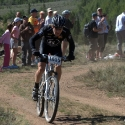 Levi Leipheimer Coming Down From Columbine Mine Climb