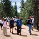 Group Hike on Pikes Peak South Slope