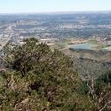 Colorado Springs from Rampart Range Road