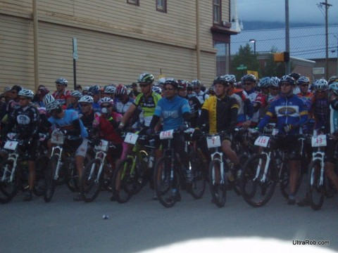 Lance Armstrong at Leadville 100 Start