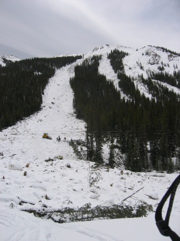 Peru Creek Avalanche April 30, 2011