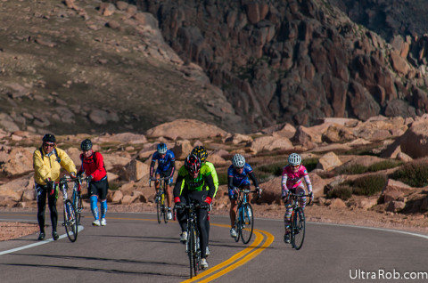Pikes Peak Cycling Hill Climb 2014
