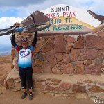 Pikes Peak Summit by Bike