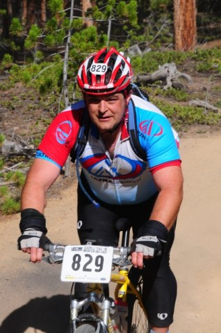 UltraRob at 2010 Leadville 100