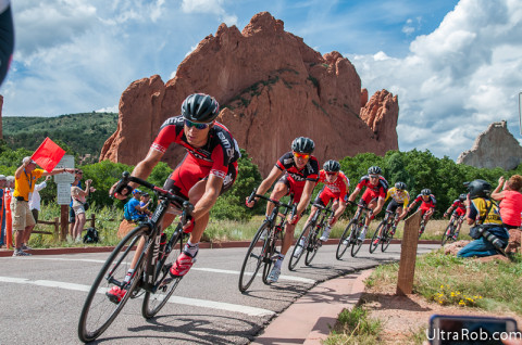 USA Pro Challenge in Garden of the Gods