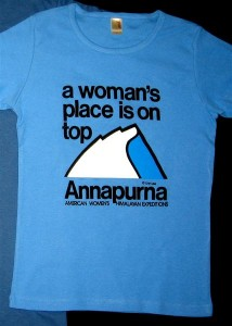Woman\'s Place is On Top T-Shirt